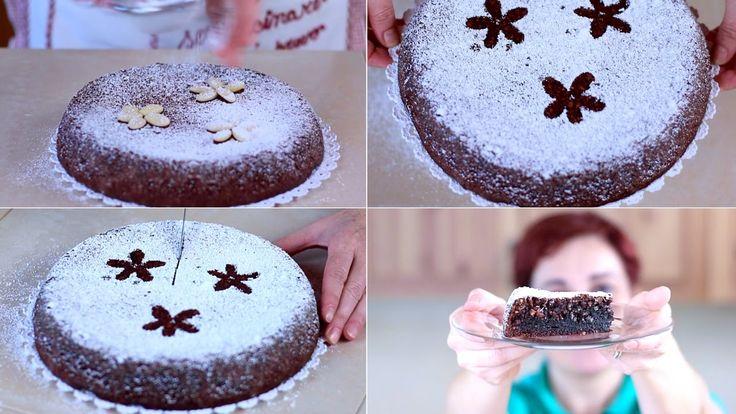 La torta caprese senza glutine è un dolce tipico della Campania, La sua particolarità è che non contiene farina nell'impasto.