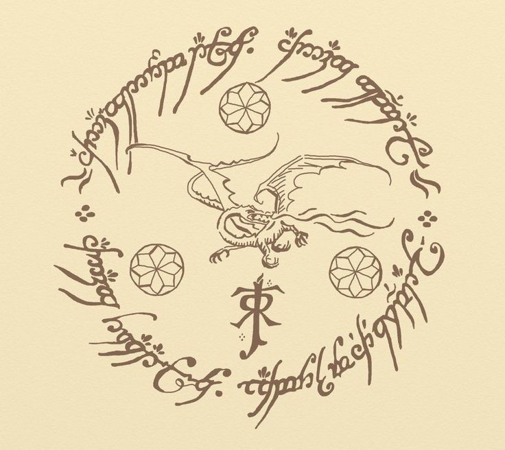 Image result for lord of the rings tattoo small