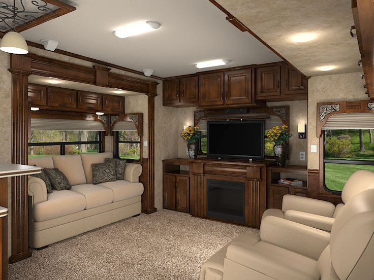 Love this RV space