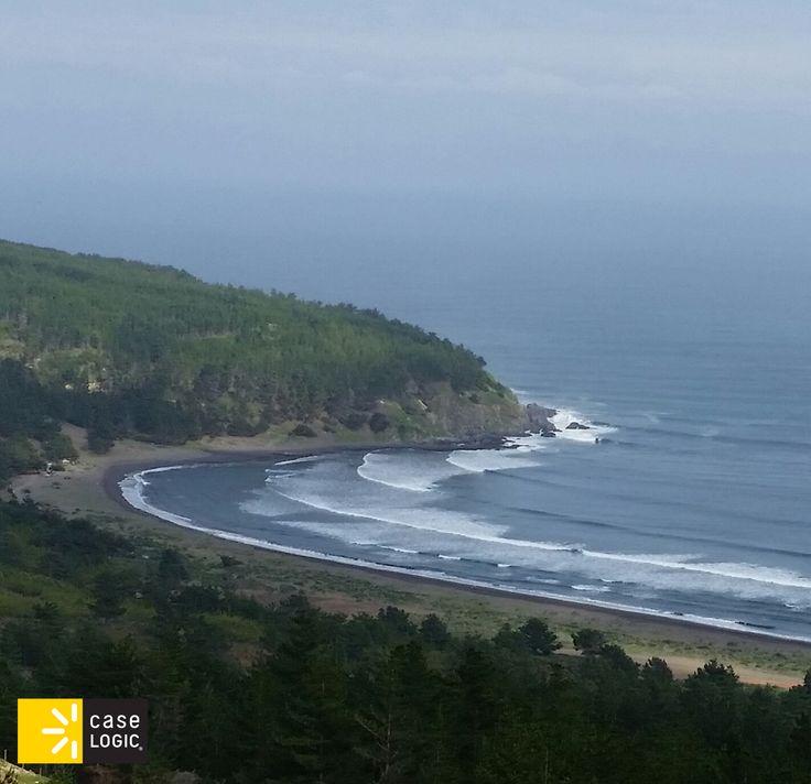 Playa de Puertecillo, Chile. #CaseLogicChile. www.audioplus.cl