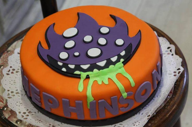 pastel de monstruo