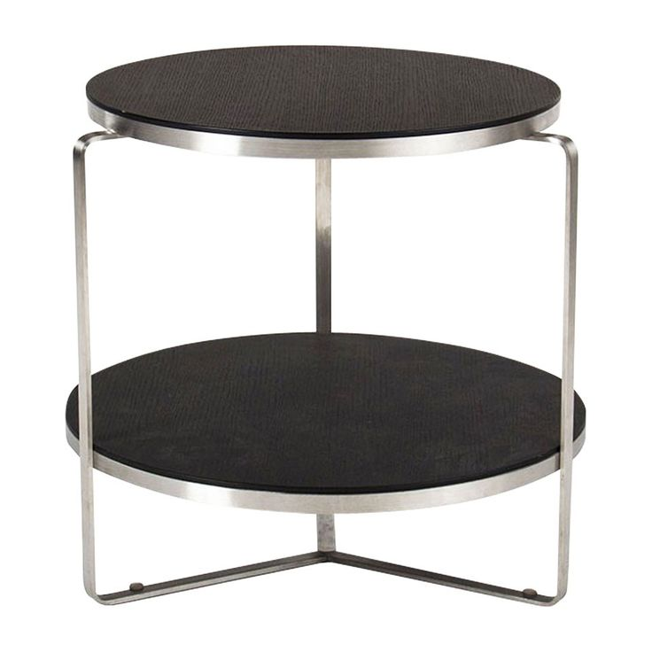 Side Table   Flex Round Grey Oak End Table   $265.   (sale Price