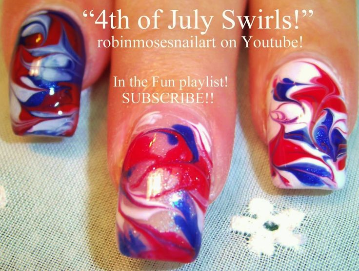 Hot designs nail art ideas home design ideas 4th of july nail art no water marble prinsesfo Gallery