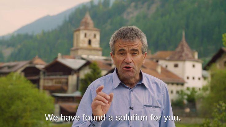 Botschaft an die Welt von Bergün