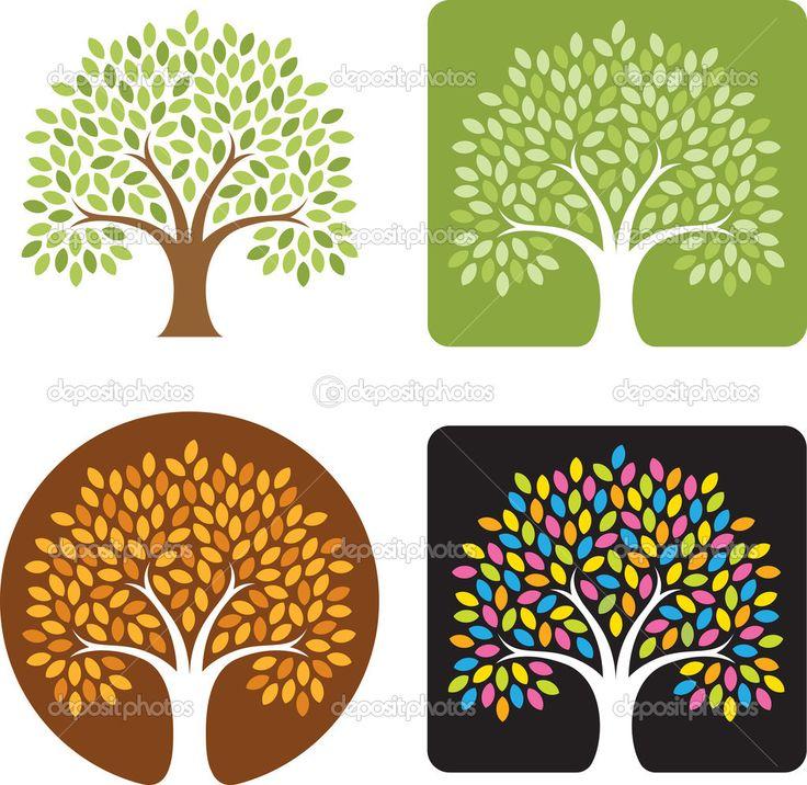 tree logo images | Tree Logo Illustration | Stock Vector © Eric Tufford #9309059