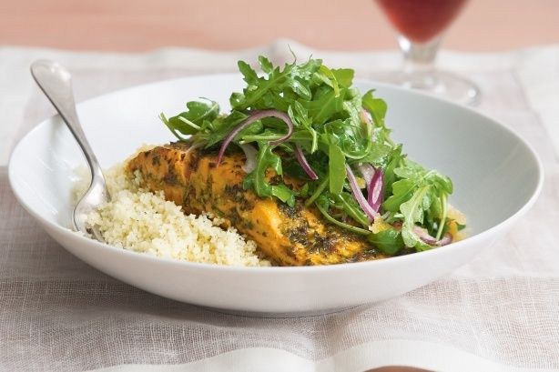 Discover the addictive combination of spicy chermoula and pan-fried ocean trout.