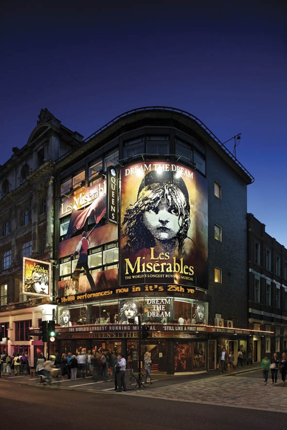 Queen's Theatre, London 2004-Present. #LesMis #Theatre #Musicals www.lesmis.com