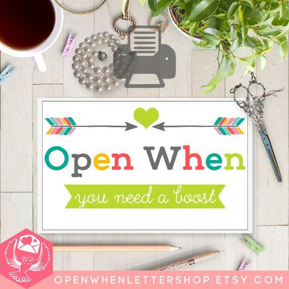 Open When Envelope Ideas 98 best Open when imag...