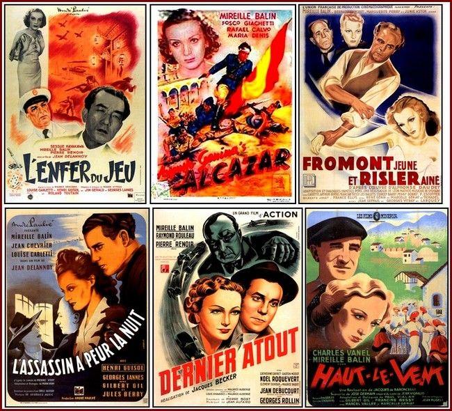 EPHEMERA (II) Una vida en affiches. Mireille Balin (1909-1968)