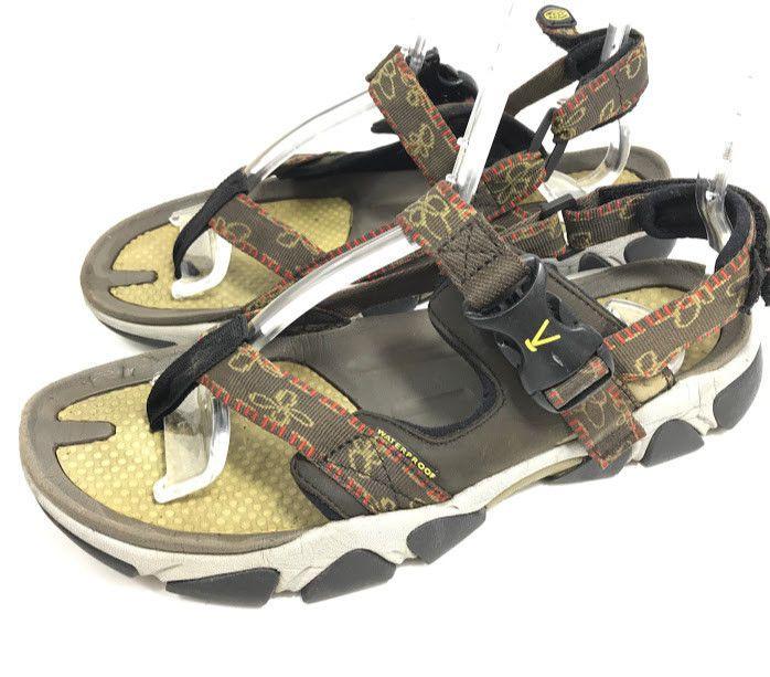 d2254ca77c6cf Keen Womens Sport Sandals Brown Flip Flop Thong Sz 9 EU 39.5 Ankle ...