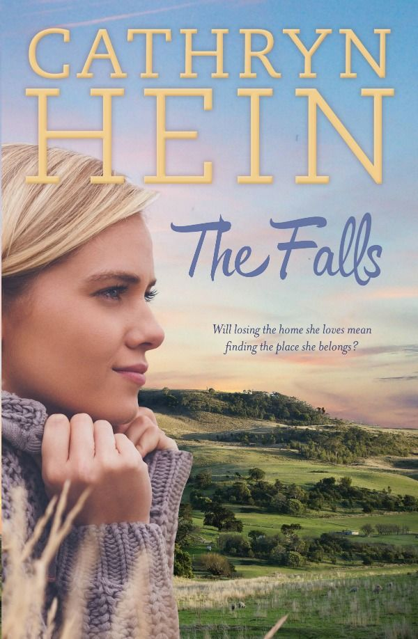 """Another RURAL ROMANCE treasure today! CATHRYN HEIN and her latest book The Falls - on the blog. """"Will losing the home she loves mean finding the place she belongs?"""" Oh - and you could WIN a copy of Rocking Horse Hill too http://bit.ly/1J3A2m2 (May 27 2015)"""