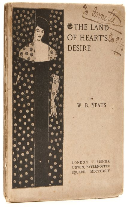 """""""Cover for 'The Land of Hearts Desire"""" by Aubrey  Beardsley, 1894"""""""
