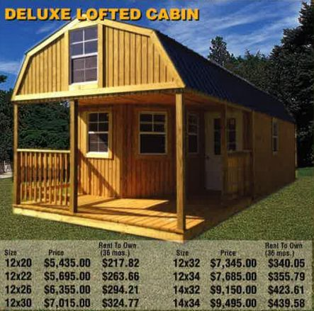 Deluxe Lofted Cabin Png Tiny Neighborhood Ideas