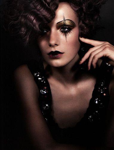 Beautiful Harlequin Makeup