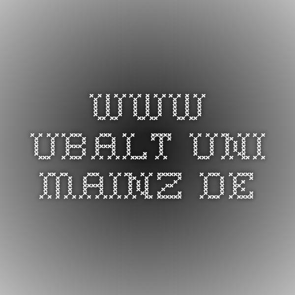 www.ubalt.uni-mainz.de