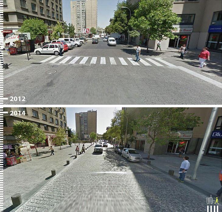 Antes/Depois: 30 fotos que mostram que é possível projetar para os pedestres