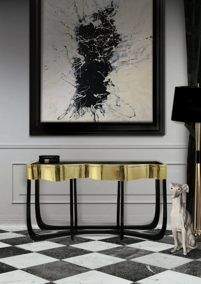 Modern home decor, the best interior design ideas and these modern console tables have all that we look for!  http://modernconsoletables.net/selection-best-modern-console-tables/
