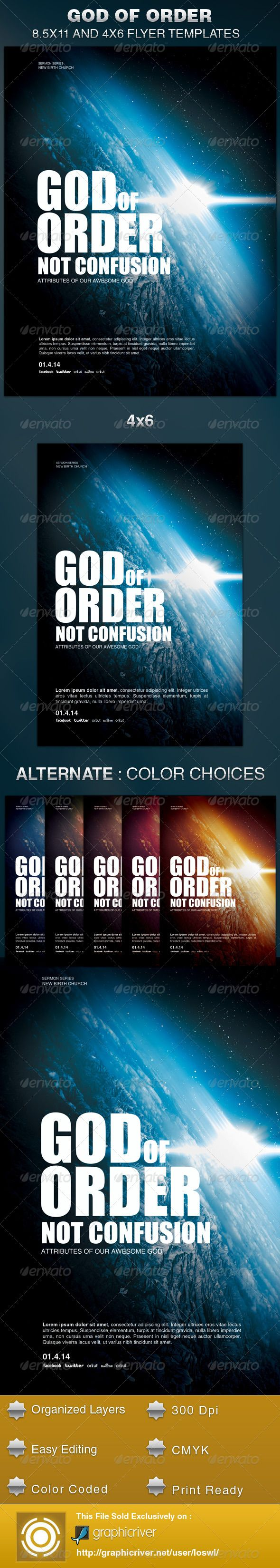 best images about church flyers marketing god of order church flyer template