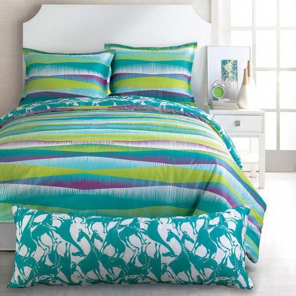 Bright teen bedding