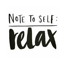 Note to #self! #relaxing