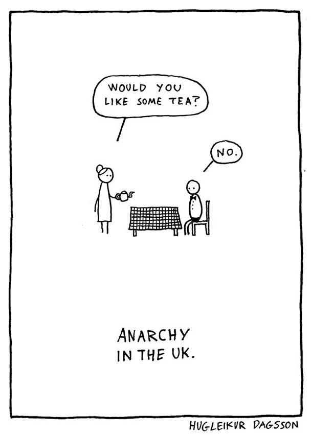 """Après l'excellent """"Et ça vous fait rire ?"""", l'illustrateur islandaisHugleikur Dagsson vient de publier il y a quelques jours un nouveau recueil de ses dessi"""