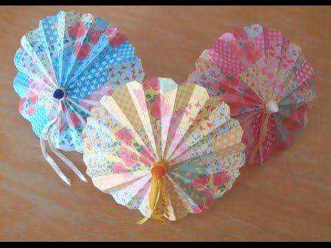 Tangkou DIY - Making A Paper Umbrella
