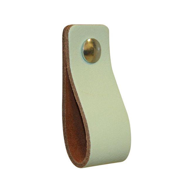 Trendige Möbel Griff, schalten Sie Ihren gewöhnlichen Möbel in den Designermöbeln. Dies sind die Originalgriffe aus weichem Leder gefertigt, um einen Vintage-Effekt schlanke Form mit abgerundeten...