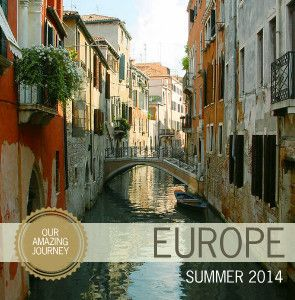 I've made several photo books,. I'm going to try Mixbook Modern Europe Travel Photo Books for my next one.