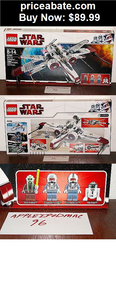 Toys: NEW SEALED LEGO 8088 STAR WARS ARC 170 STARFIGHTER KIT FISTO CLONE WARS - BUY IT NOW ONLY $89.99