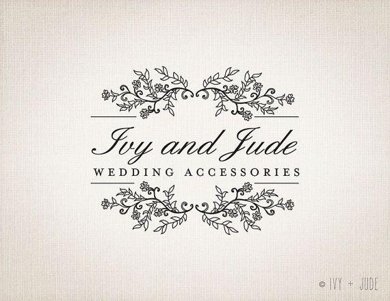 15 best ideas about wedding logo design on pinterest hand drawn logo logo design