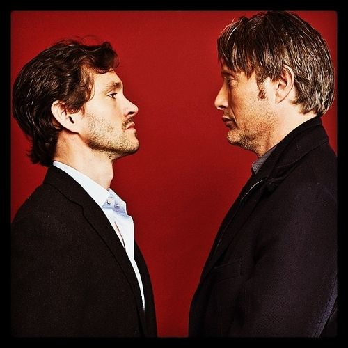 Hugh Dancy & Mads Mikkelsen