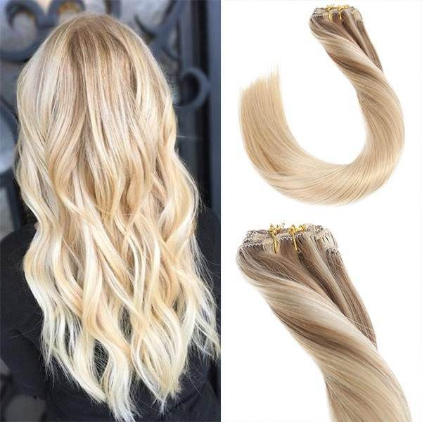Balayage Nordic Clip in Remy Human Hair Extensions