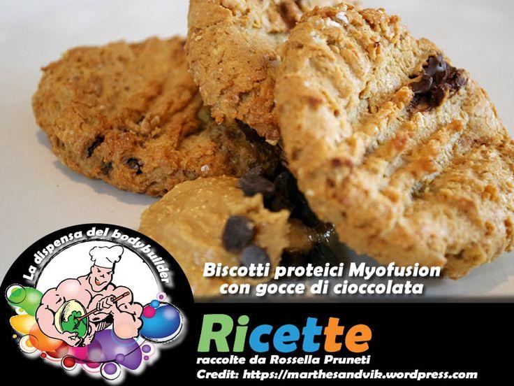 Biscotti proteici Myofusion con gocce di cioccolata