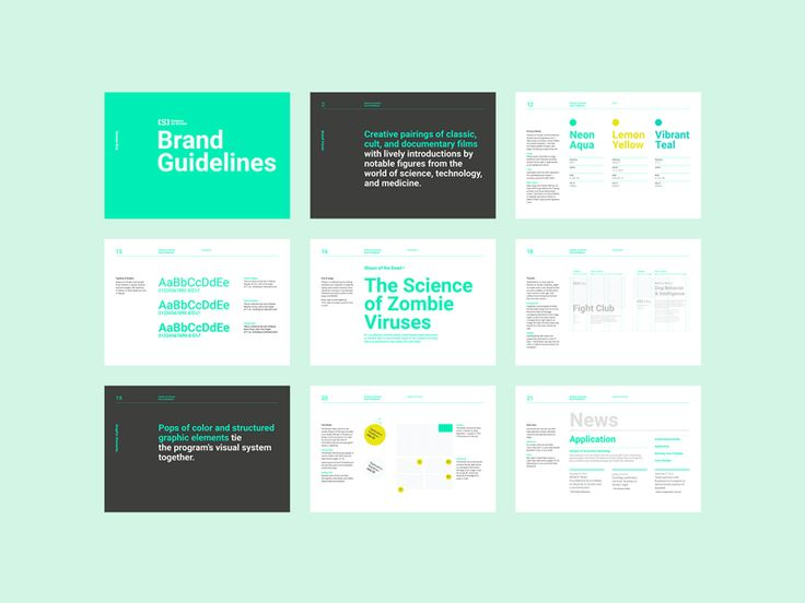 Science on Screen Brand Guidelines