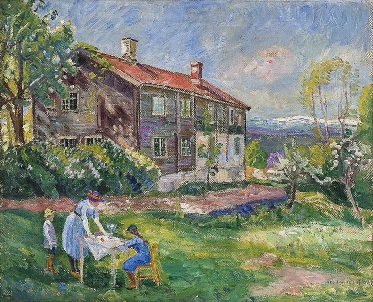 Lars Jorde (1865–1939): Fra Ringerike mot Norefjell, 1914