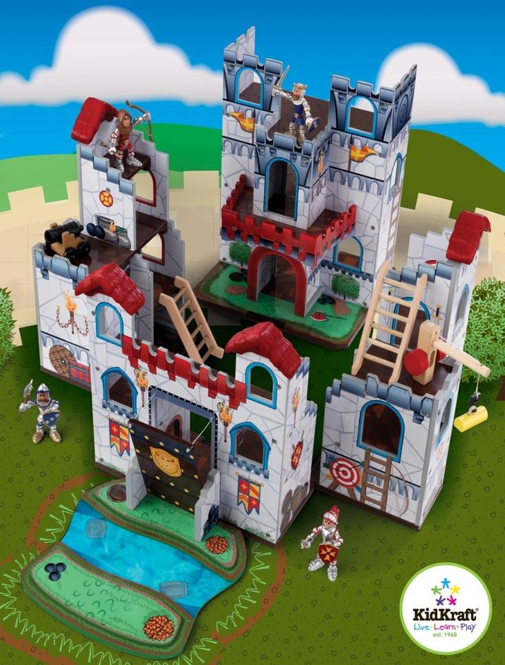 Diy Kids Play Castle