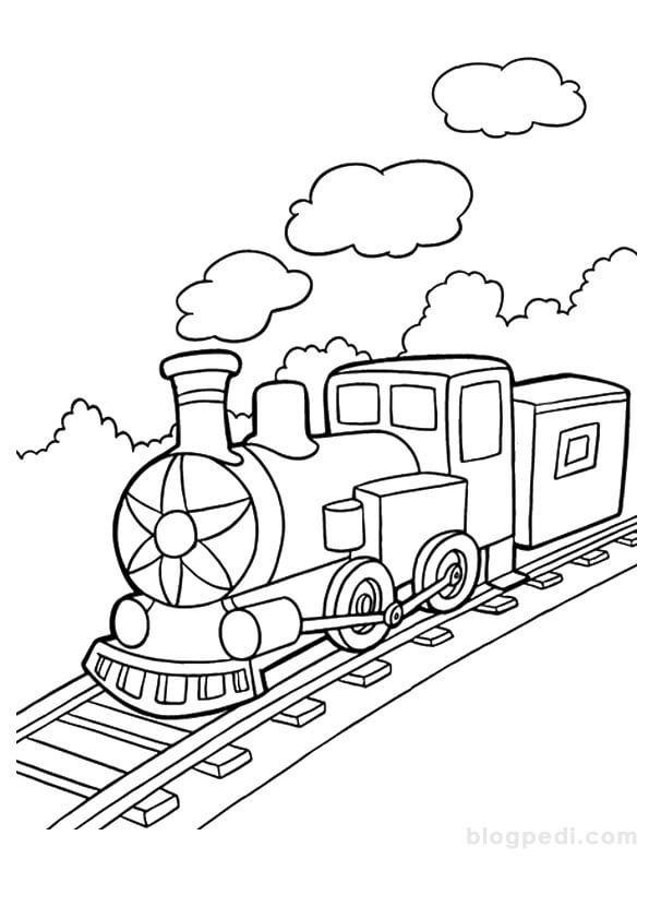 Ana Sinifi Tren Boyama Resimleri Boyama Kitaplari Boyama