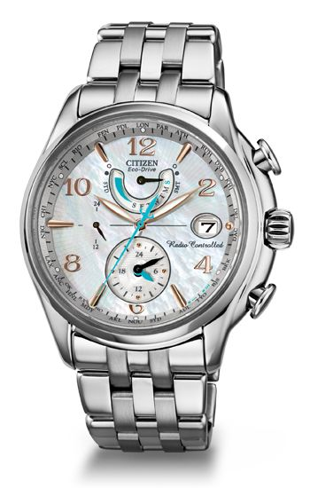 Citizen Eco-Drive Ladies' World Time A-T FC0000-59D Atomic Timekeeping Citizen Watch