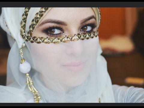 Bridal Niqab Tutorial - YouTube