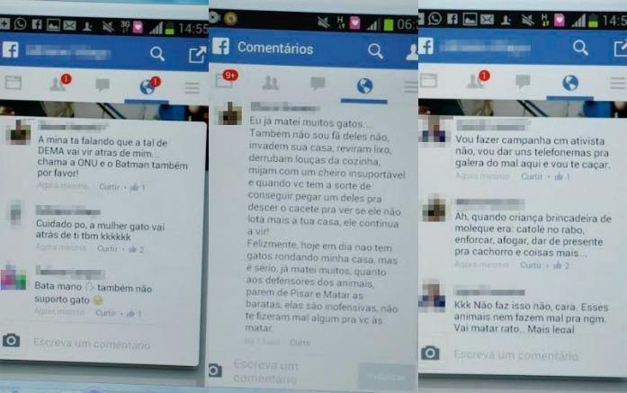 """""""O GRITO DO BICHO"""": Comentários sobre maus tratos a animais no Faceboo..."""
