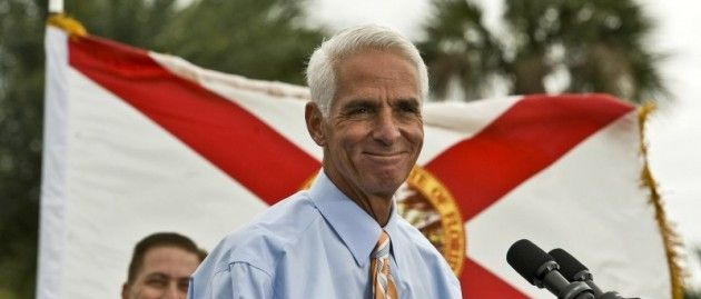 Crist To Feds: Don't Kick The Undocumented Off Obamacare Coverage   Charlie Crist, the Democratic nominee in Florida's governor race in November, says the Obama administration shouldn't require proof of immigration status for Obamacare sign-ups. AUGUST 14, 2014    SERIOUSLY!!!!!!!