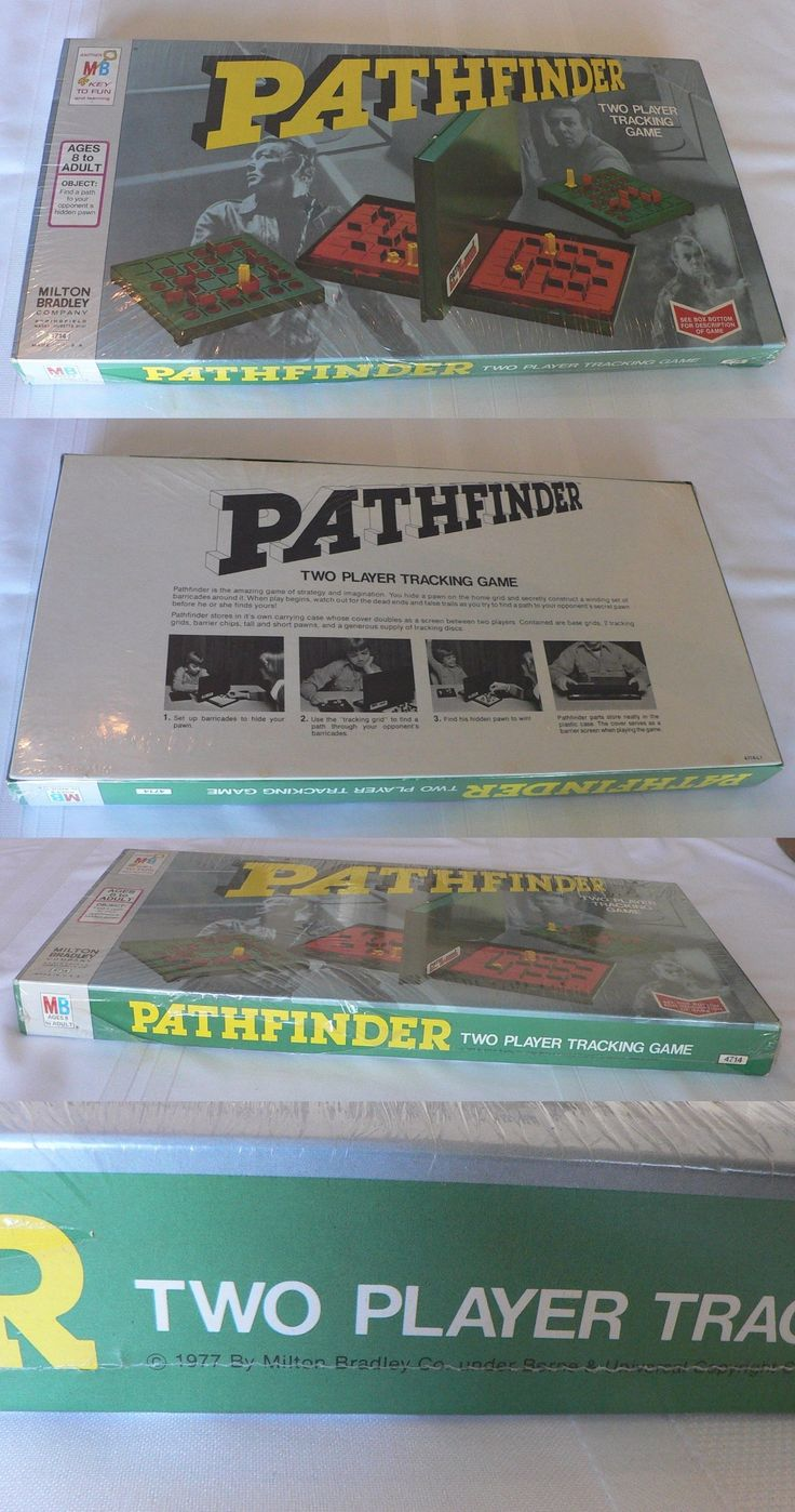 Vintage Manufacture 19100: 1977 Pathfinder Game By Milton Bradley – New And Still In Plastic -> BUY IT NOW ONLY: $99.99 on eBay!