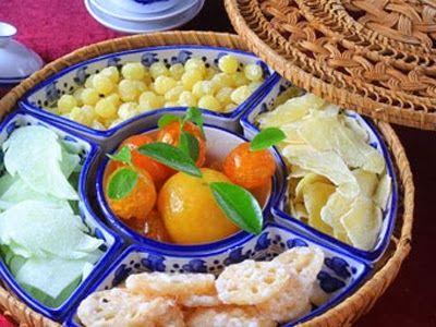 "Ha Noi Tours: ""Mứt Tết"", very delicious preserved fruit!"