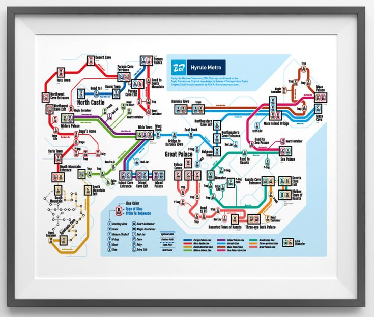NES Retro Subway Maps: DC Metroid | The Online Source For Gaming Info