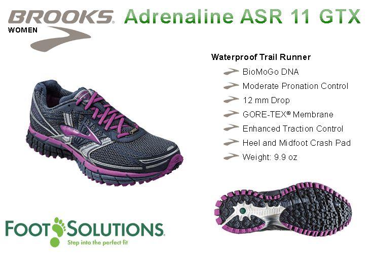 Brooks Adrenaline ASR 11 GTX - Women // Autumn 2014
