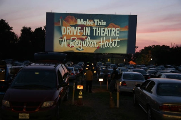Take the outdoors in while enjoying a movie at the drive-in!
