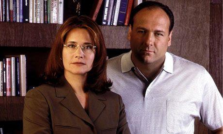 Tony Soprano and Jennifer Melfi