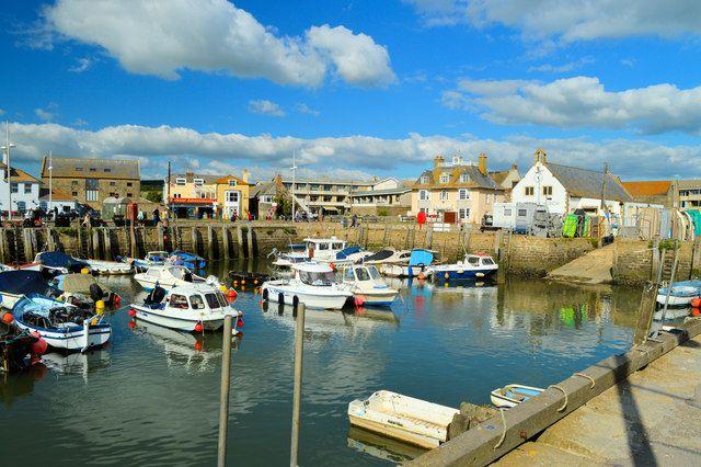 THE HARBOUR | WEST BAY | Nr. BRIDPORT | JURASSIC COAST | DORSET | ENGLAND