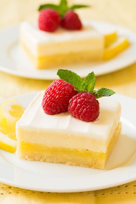 Cheesecake Lemon Bars   Cooking Classy