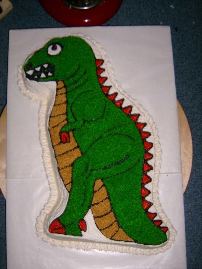 dinosaur cake pans/wilton | Partysaurus Dinosaur Wilton Cake Pan 1987 2105 1280 Godzilla T Rex ...